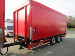 verkoop opbouw aanhanger spier 2-Achs TANDEM-Anhänger Getränkepritsche LBW 2 T 2012