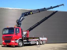 platform vrachtwagen DAF CF 85.360 6X2/4 E5 / HIAB 37 t/m CRANE / KRAN 2012