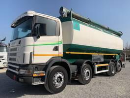 tankwagen vrachtwagen Scania R124-420 R124.420 MENCI-Silo 34cbm 2000