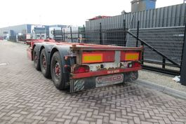 container chassis oplegger Renders EURO 800 / 2X Extendable / BPW + Disc 2008