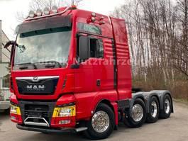 zware last trekker MAN TGX 33.580 XXL 8x4/4 BLS Euro6 150t Schwerlast 2017