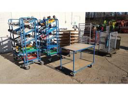 overige bouwmachine Magazijn wagens en rekken