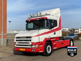 standaard trekker Scania 144 L 530 TORPEDO / RETARDER UNIQUE TOP CONDITION WB 4700 2000