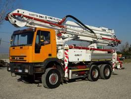betonpomp vrachtwagen Iveco EUROTRAKKER  260E37 6X6