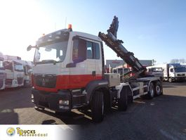 containersysteem vrachtwagen MAN TGS 440 + Manual + Euro 5 + PTO + Hook system + 8x4 HydroDrive 2011
