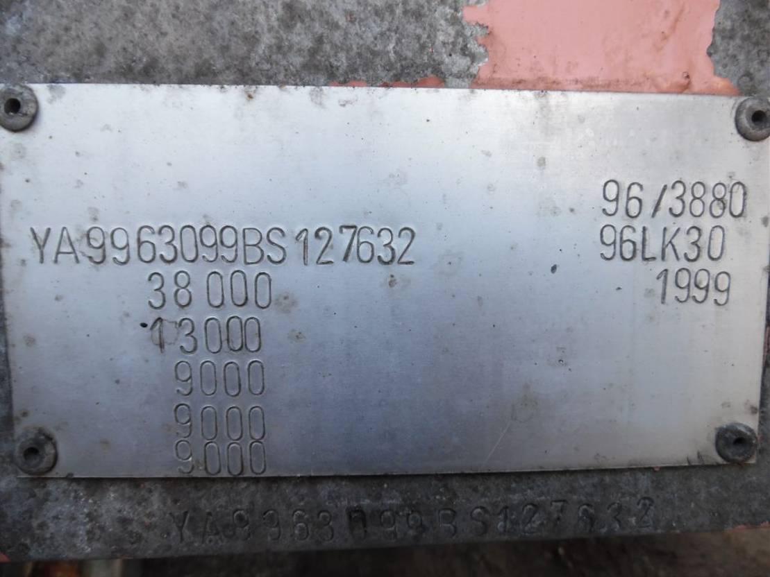 tankoplegger Lambrecht bulkoplegger  3-asser 1999