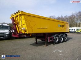kipper oplegger Bodden Tipper trailer alu + tarpaulin 29 m3 2007