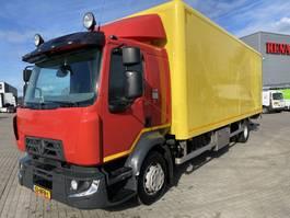 bakwagen vrachtwagen Renault D 2.1 210 PK 2014