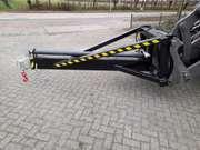 Hydraulic adjustable jib hijsmast to suit Volvo coupler