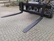 Pallet forks frame vorkenbord to suit Volvo quick coupler 2.4m wide
