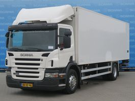 koelwagen vrachtwagen Scania P320 DB4X2MNA | KUHLKOFFER | COOLING BOX | 780 X 235 X 219 | TAILGATE 1500KG 2010