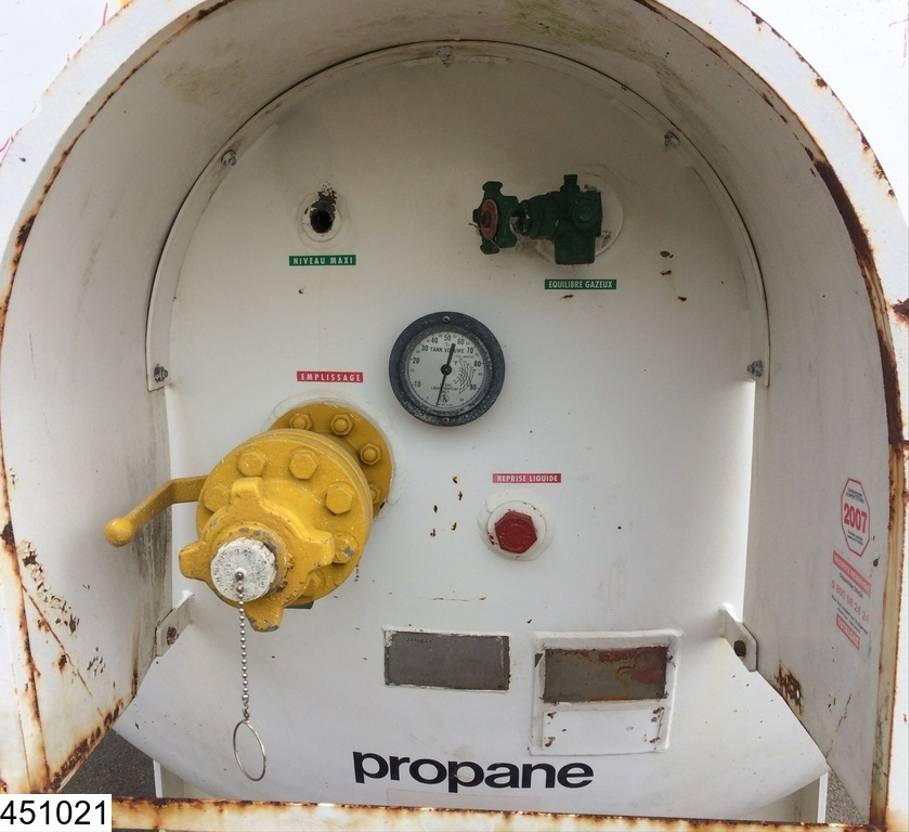 tankcontainer Diversen Citergaz Gas 15300 liter liter LPG GPL gas storage tank 1974