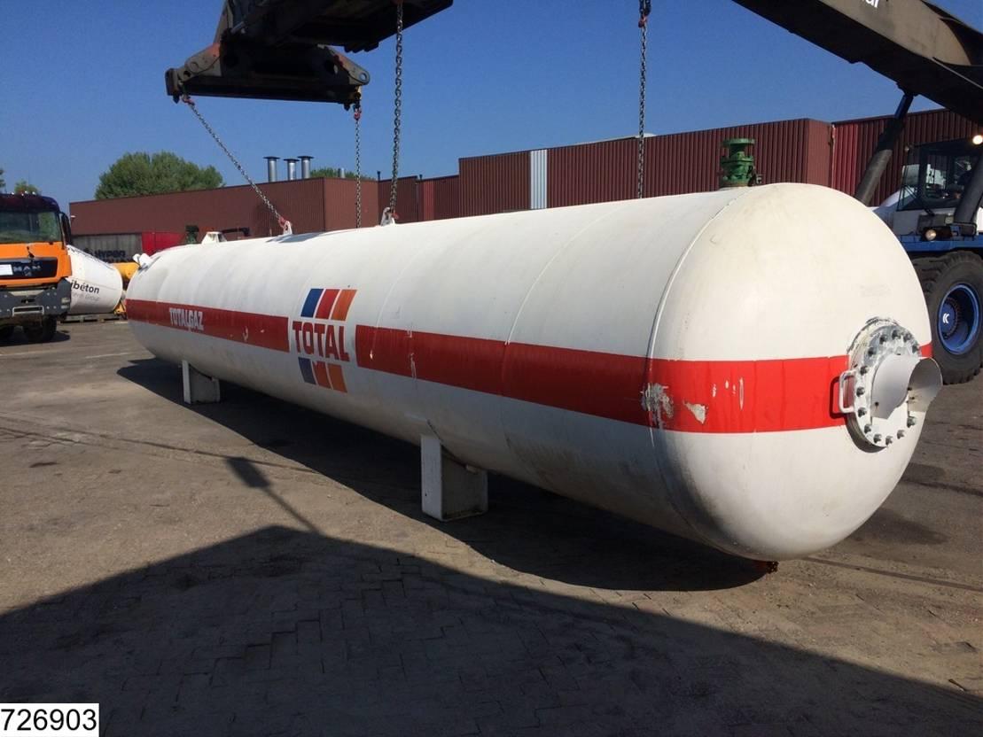 tankcontainer Diversen Citergaz Gas 28000 liter LPG GPL gas storage tank 1972