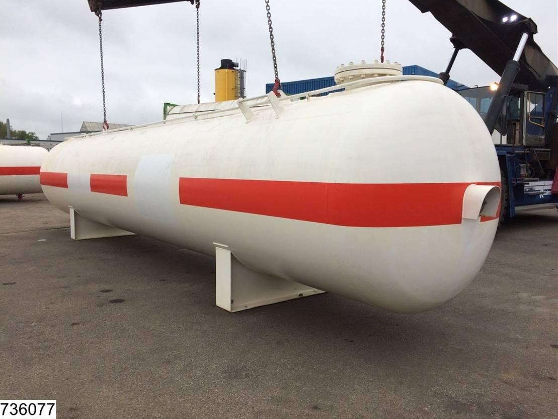 tankcontainer Diversen Citergaz Gas 29200 liter LPG GPL gas storage tank 1973