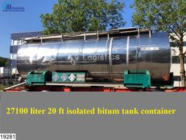 leger vrachtwagen Van Hool Bitum tank Bitum tank, Isolated, 27100 Liter, 150c, 4,5 Bar, 1986
