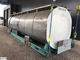 leger vrachtwagen Van Hool tank 30100 Liter 30 FT Bitum Tank Container 1990