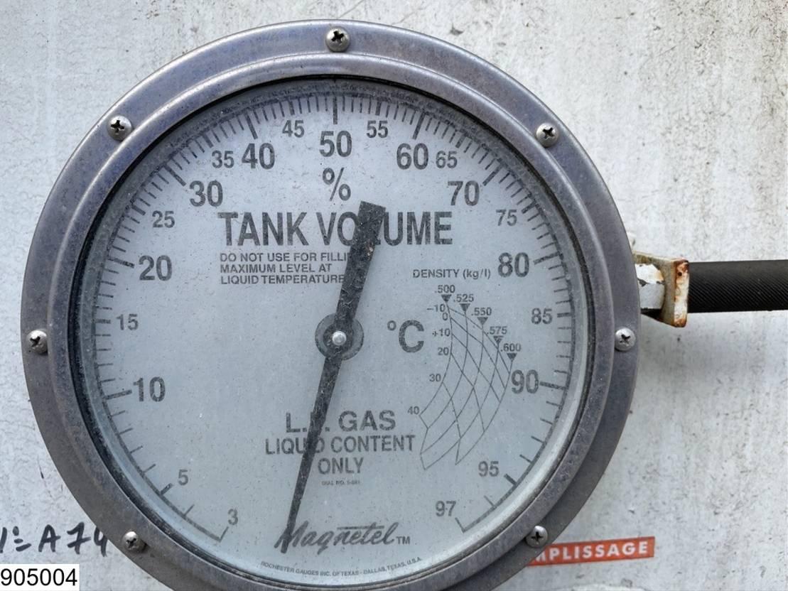 tankcontainer Diversen Citergaz Gas 70000 liter LPG GPL gas storage tank