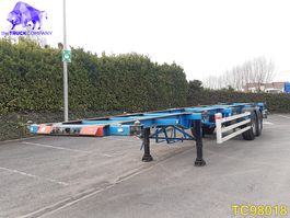 container chassis oplegger Renders Container Transport 1998