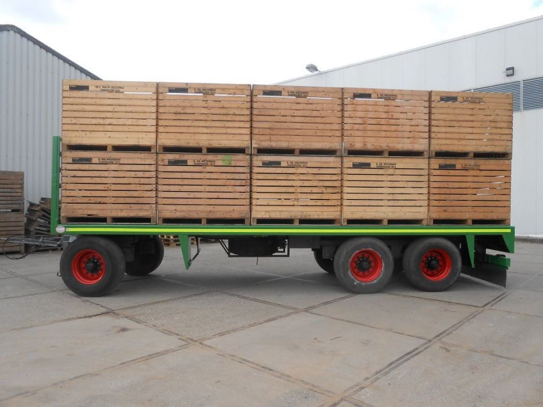 balenwagen Jumbo balen/kisten transport