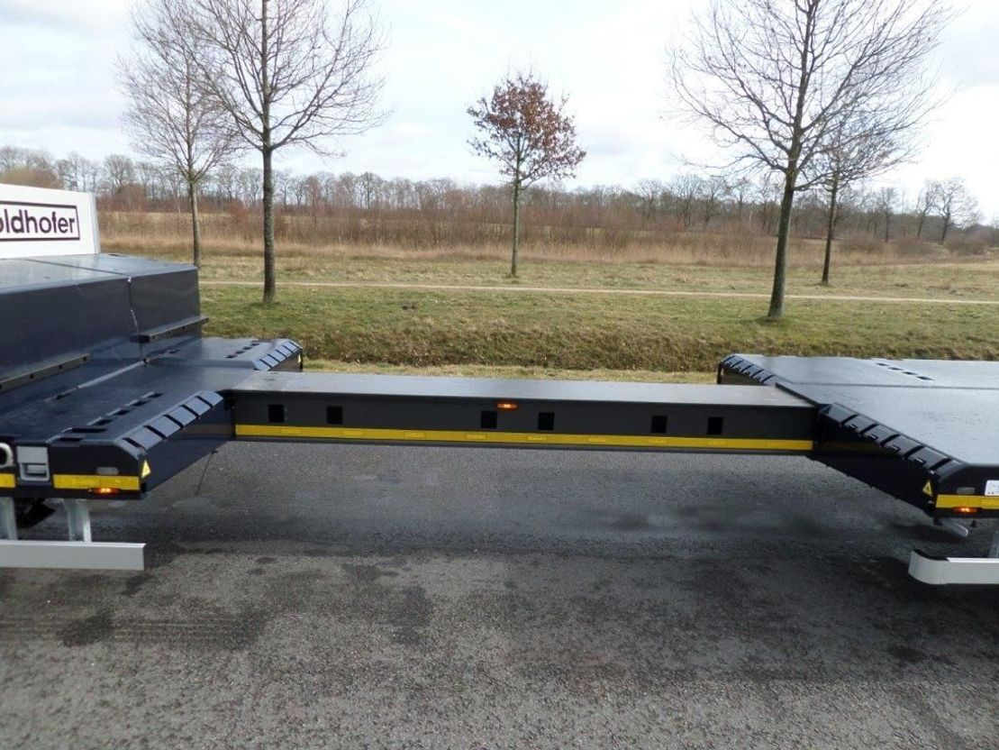 semi dieplader oplegger Goldhofer STN-L 3 (245) A STEPSTAR