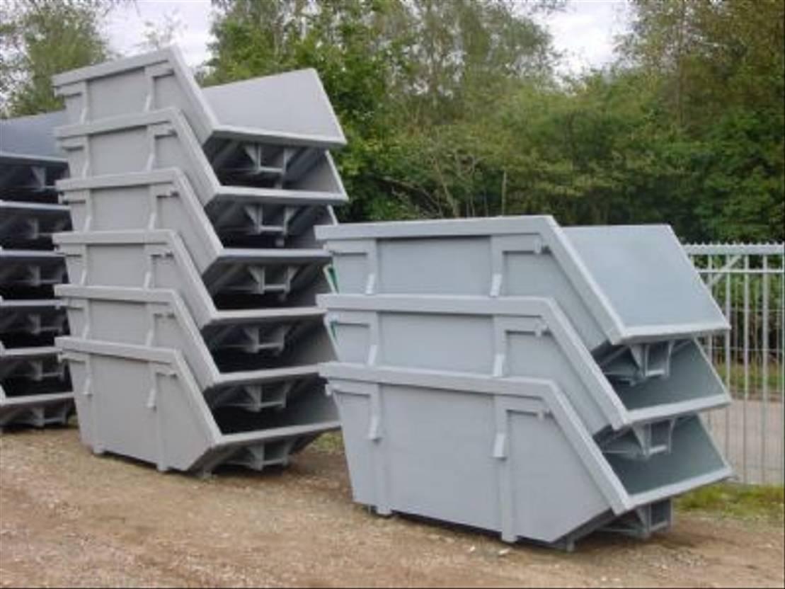 overige containers Diversen 4 m3 open portaalarmsysteem co
