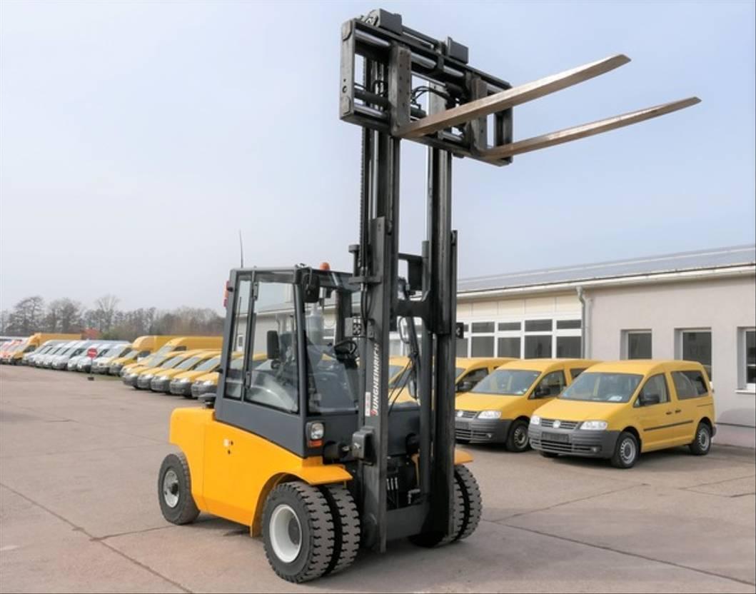 vorkheftruck Jungheinrich DFG 680 KLIMA DUPLEX 4-Ventile 2014