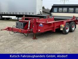 container chassis aanhanger Müller-Mitteltal ETM-TA 11,9t Tandem-Mulden / Tieflader 2011