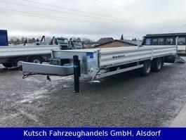 dieplader aanhanger Müller-Mitteltal ETÜ-TA-R 19 (18) Tandem-Tieflader 7m, get. Bordw 2021