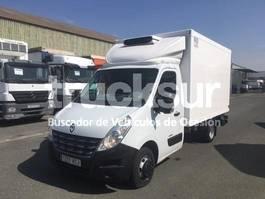 koelwagen bakwagen Renault MASTER 125.35 FRC-X PLATAFORMA 2013