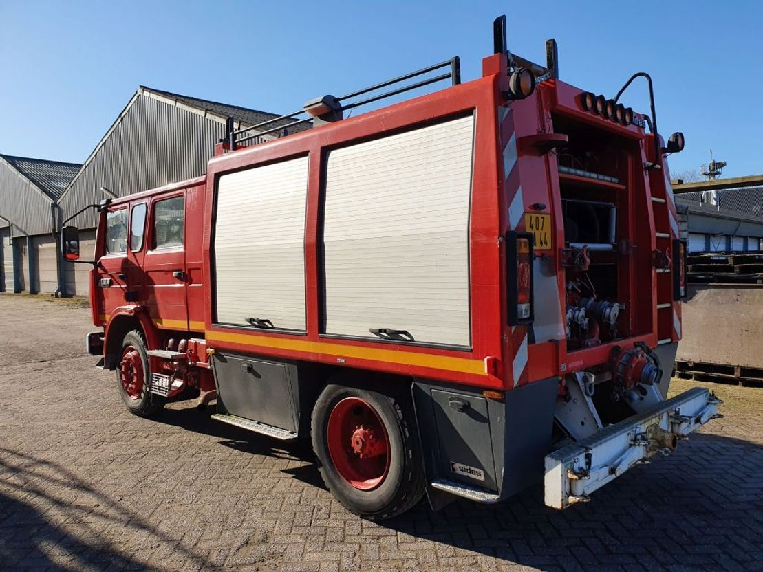 brandweerwagen vrachtwagen Renault M210 1990