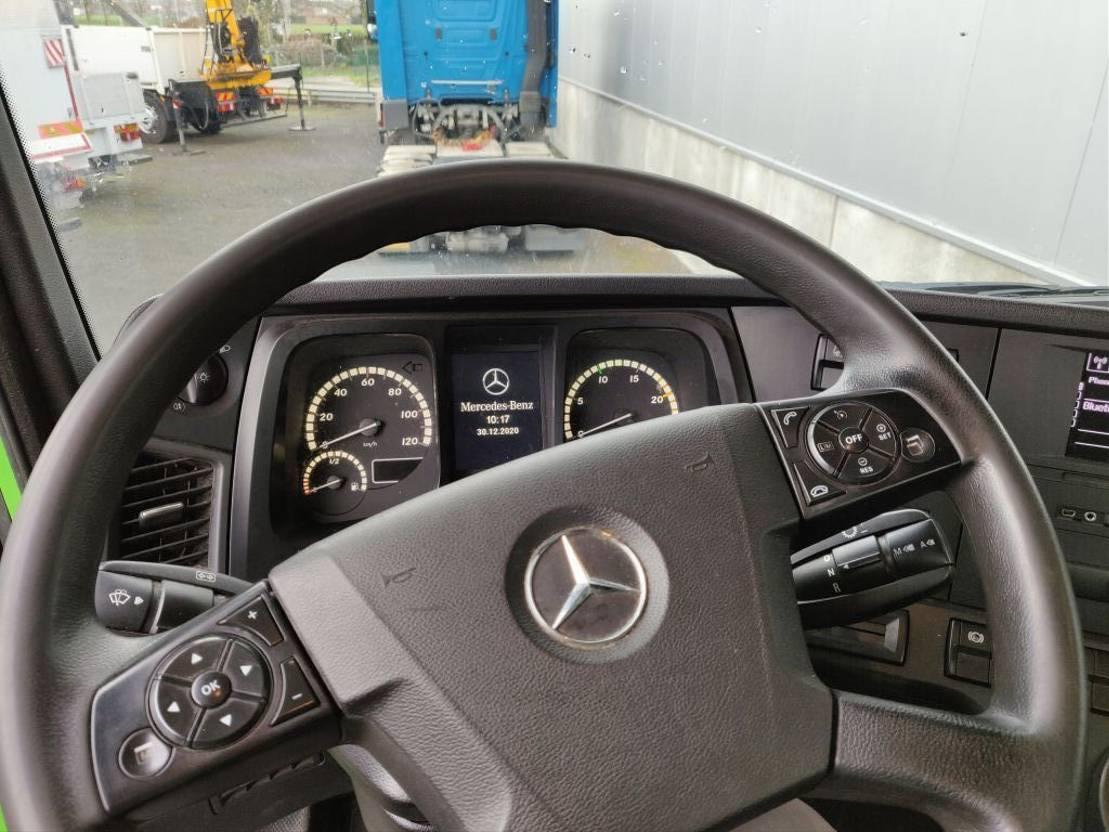 chassis cabine vrachtwagen Mercedes-Benz Arocs 3240 LL 8x4 2014