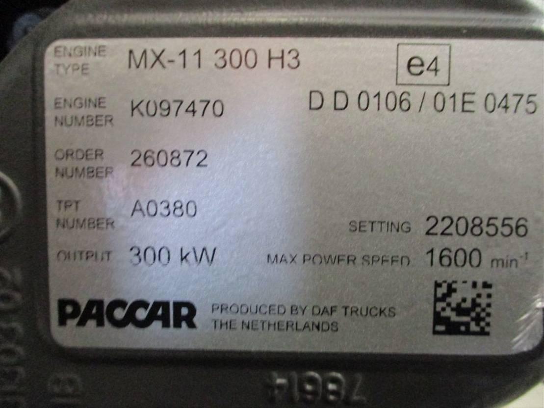 Motor vrachtwagen onderdeel DAF MX-11 300 H3 MOTOR EURO 6 NIEUW!