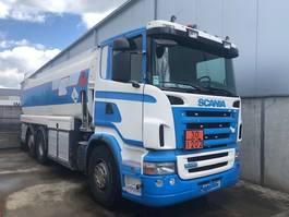 tankwagen vrachtwagen Scania 2007