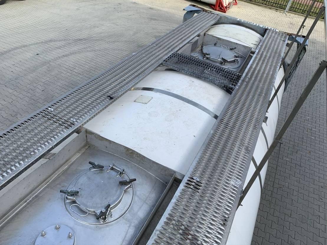 tankcontainer Diversen 20FT, swapbody, 31.060L TC, UNPORTABLE, T7, L4BN 2,5y insp. until: 06-2022 2000