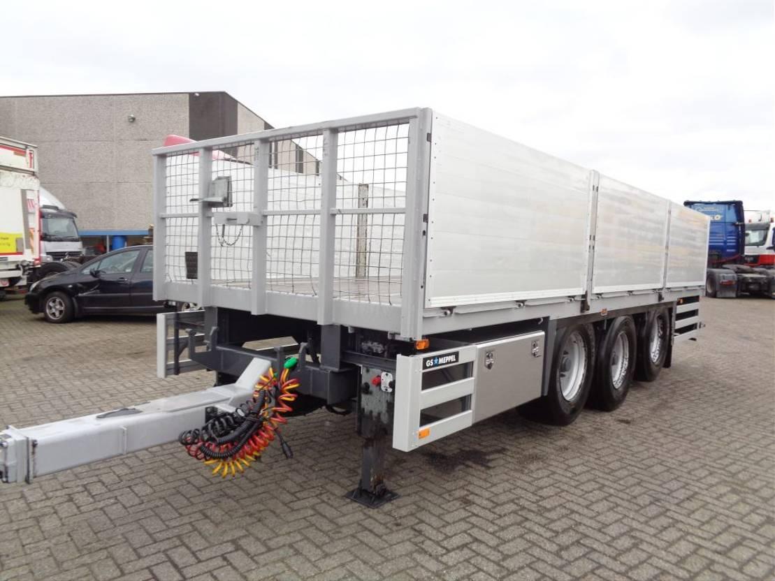 platform vrachtwagen DAF CF 85.360 Combi GS MEPPEL + Manual + Euro 5 + Pto + Palfinger Crane 2010