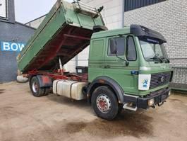 kipper vrachtwagen > 7.5 t Mercedes-Benz 1635 like new 1987