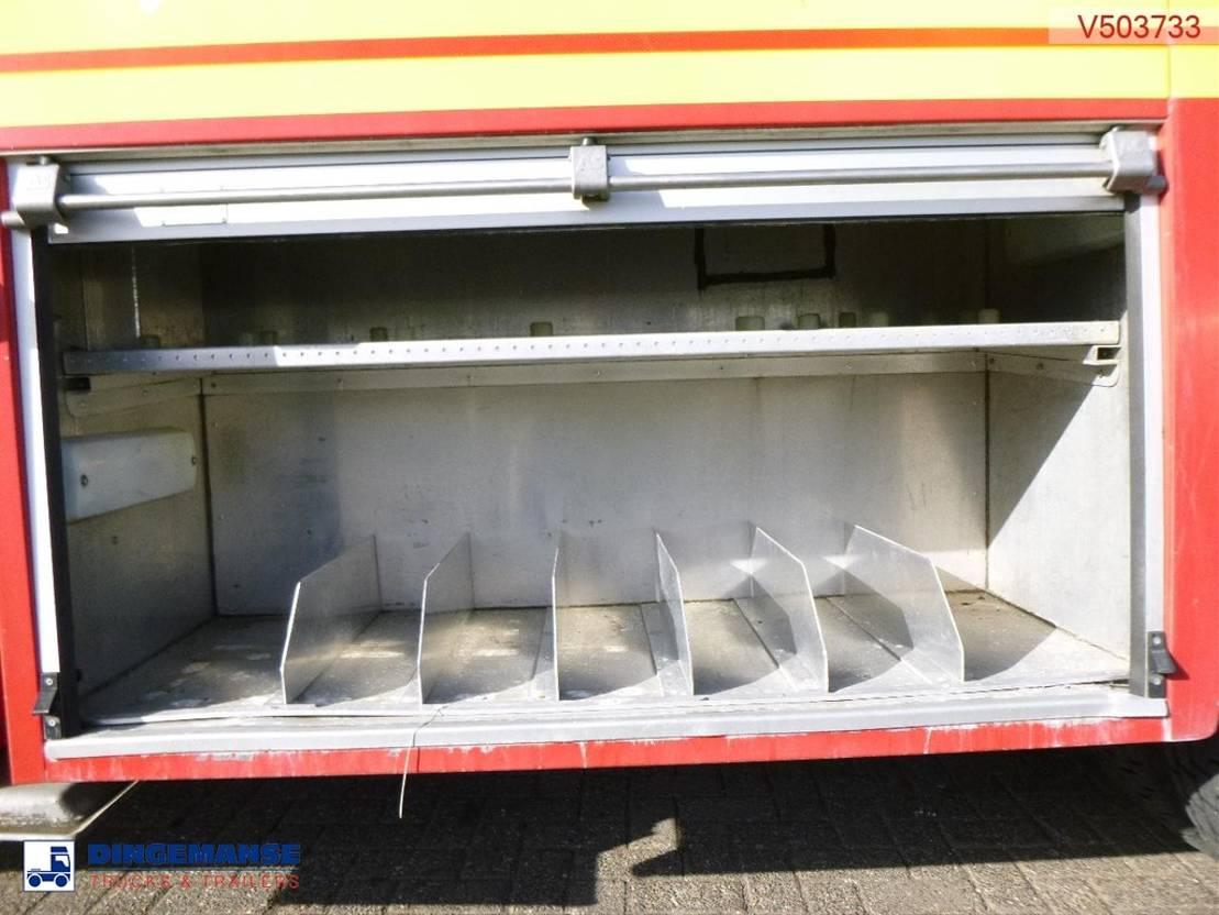 brandweerwagen vrachtwagen Volvo FM12 6x4 RHD Bronto Skylift F32HDT Angloco fire truck 2000