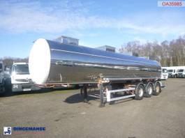 tankoplegger BSL T Chemical tank inox 26.3 m3 / 1 comp 1997
