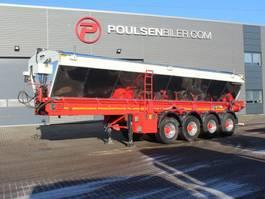 kipper oplegger Kel-Berg 4-axle asphalt transport belt 2018