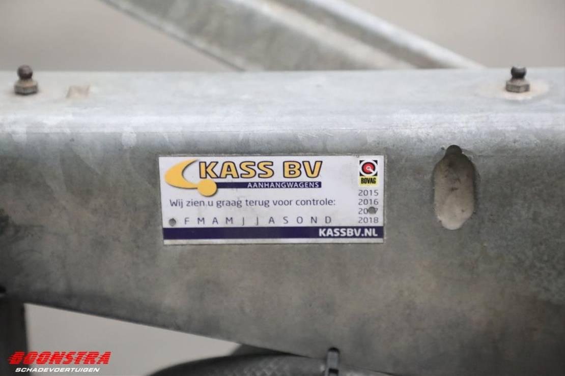 autotransporter aanhangwagen Witteveen R 2530 Autotransporter oprijplaten BJ 2012 2012