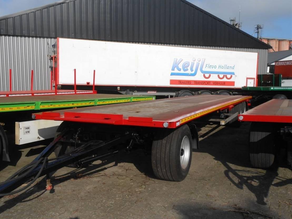 platte aanhanger vrachtwagen Agria AGROLINER - 3 2012