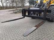 pallet fork frame vorkenbord to suit Volvo quick coupler 2.4m wide