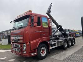 containersysteem vrachtwagen Volvo FH 16 8X4 EURO 5 + HOOKLIFT MET REMOTE 2010
