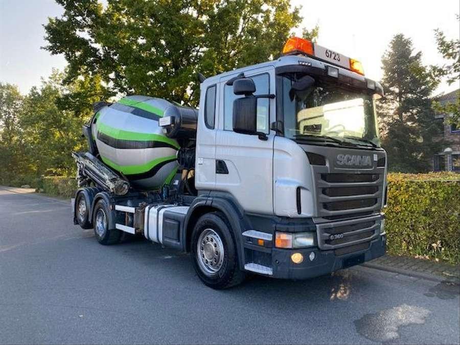 Scania - 6x2/Intermix 7 m³/Verlängerung 9,00m Mit Remote 2