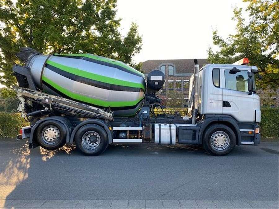 Scania - 6x2/Intermix 7 m³/Verlängerung 9,00m Mit Remote 5