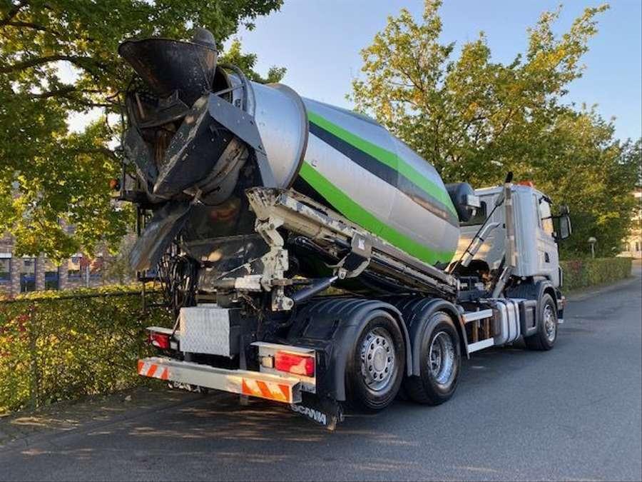 Scania - 6x2/Intermix 7 m³/Verlängerung 9,00m Mit Remote 4
