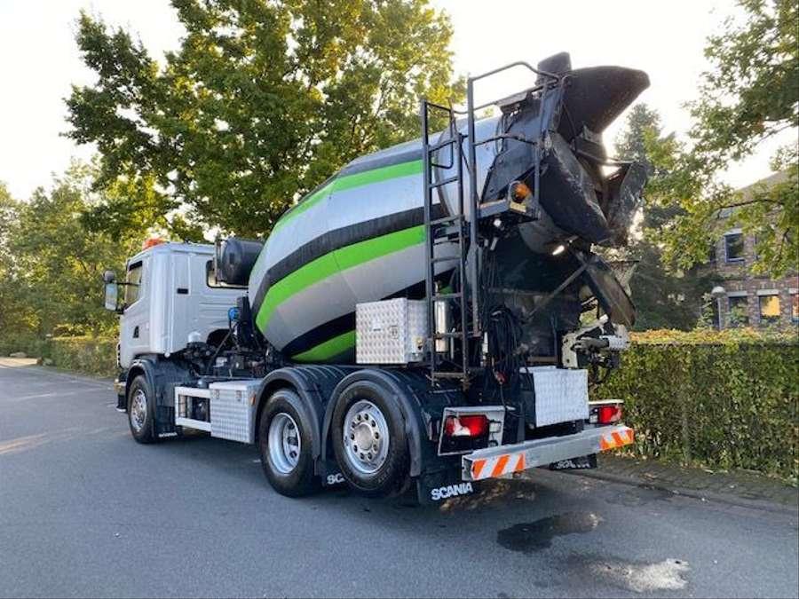 Scania - 6x2/Intermix 7 m³/Verlängerung 9,00m Mit Remote 3