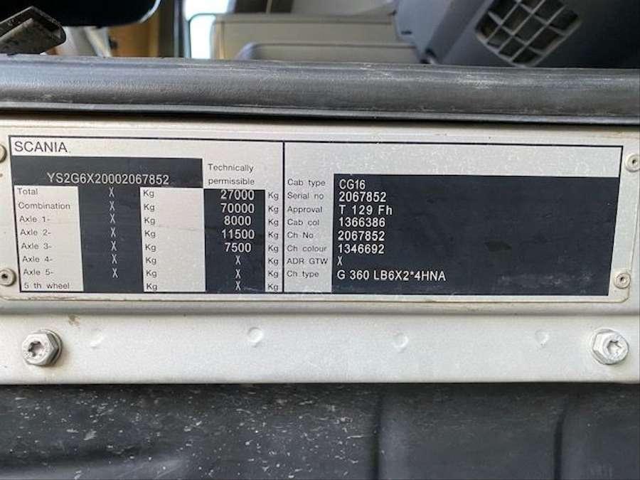 Scania - 6x2/Intermix 7 m³/Verlängerung 9,00m Mit Remote 26