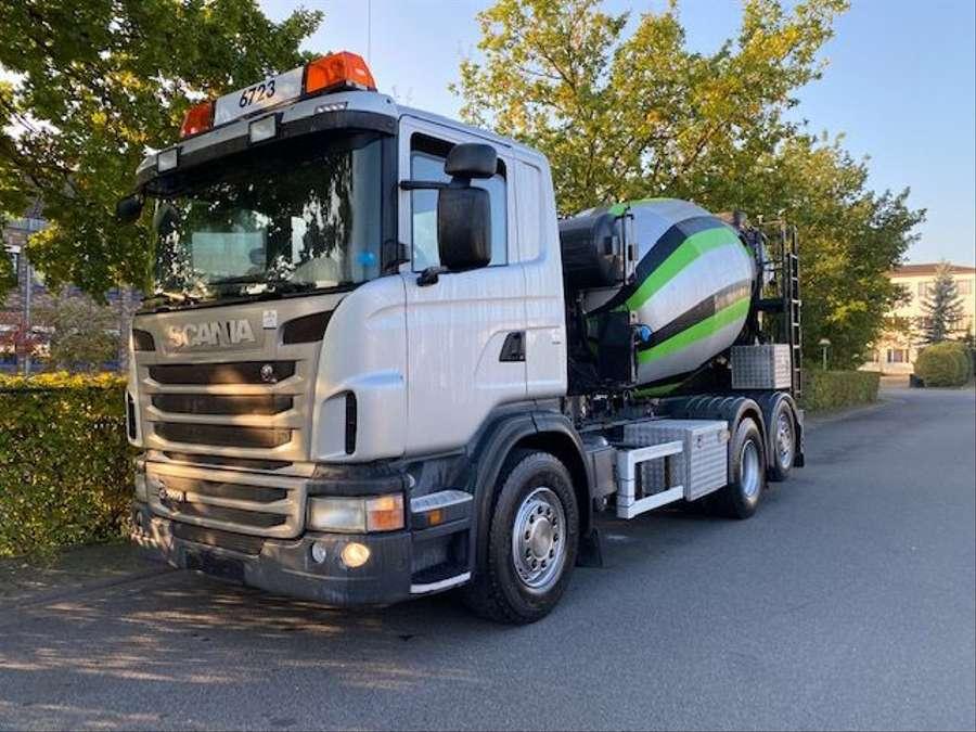 Scania - 6x2/Intermix 7 m³/Verlängerung 9,00m Mit Remote 1