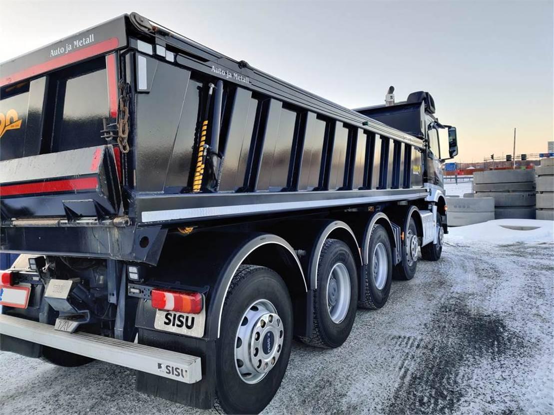 kipper vrachtwagen > 7.5 t Sisu CM13M KA-KKA-10x4/4250 2019